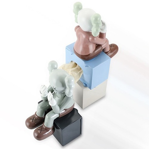 sitting kaws multi case