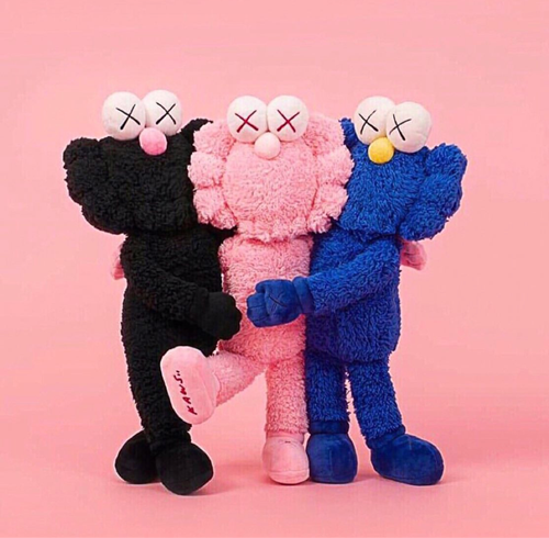 kaws bff holiday [3color]