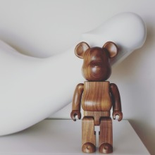 oak 400% bearbrick